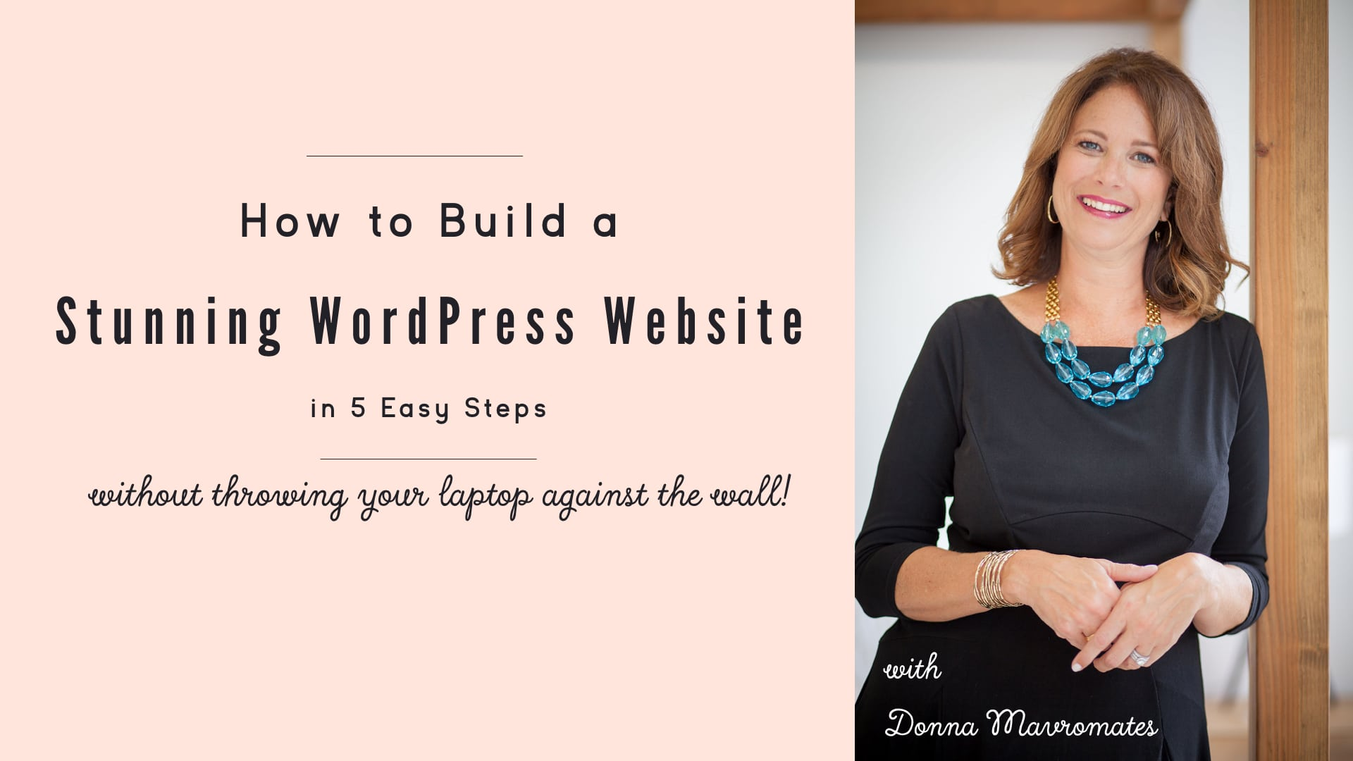 Build your wordpress website in 5 easy steps mavrocreative Build easy website