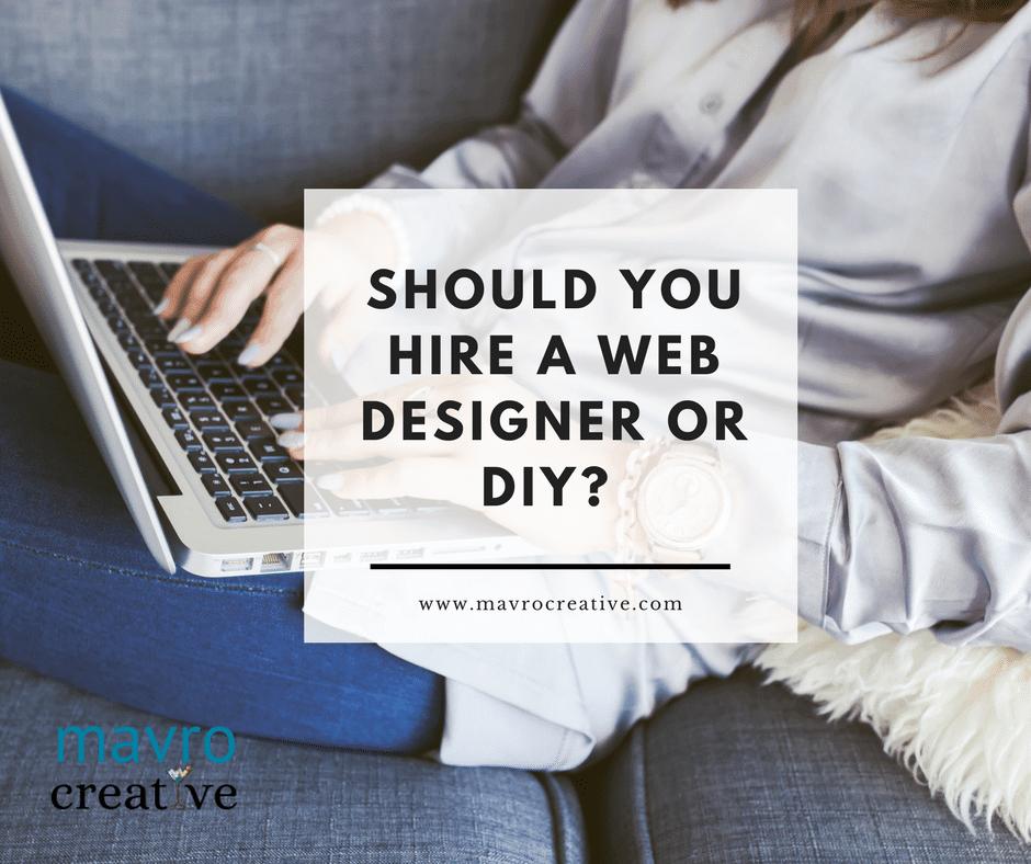 Web Designer or DIY